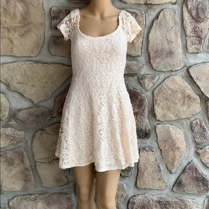 Forever 21 Lace and Crochet Fit & Flare Dress